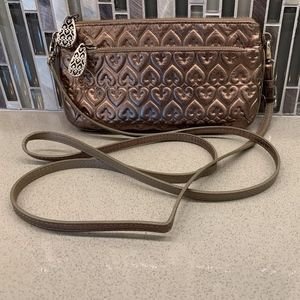 Brighton Rose Gold Crossbody